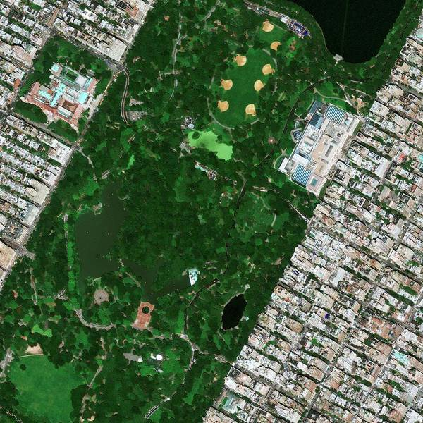 Bethesda Fountain Photograph - Central Park Museums by Geoeye/science Photo Library