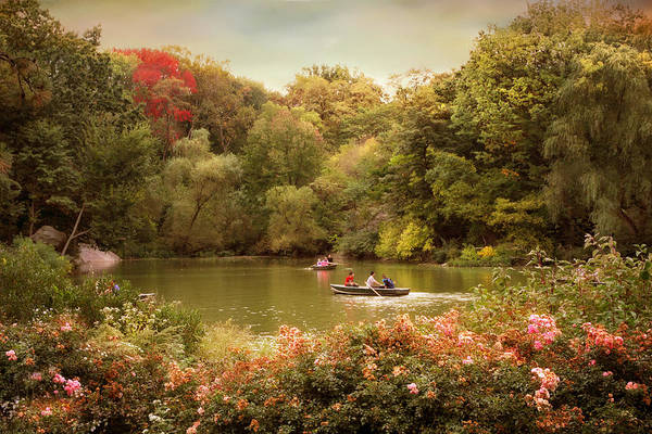 Photograph - Central Park Rowers by Jessica Jenney