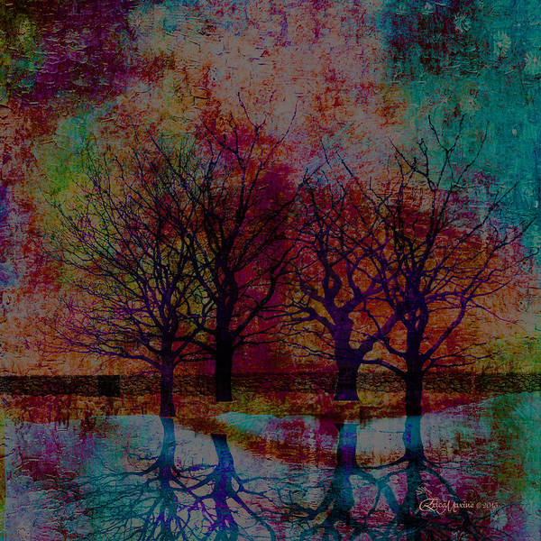 Painting - Central Park West - Featured In Comfortable Art Group by Ericamaxine Price