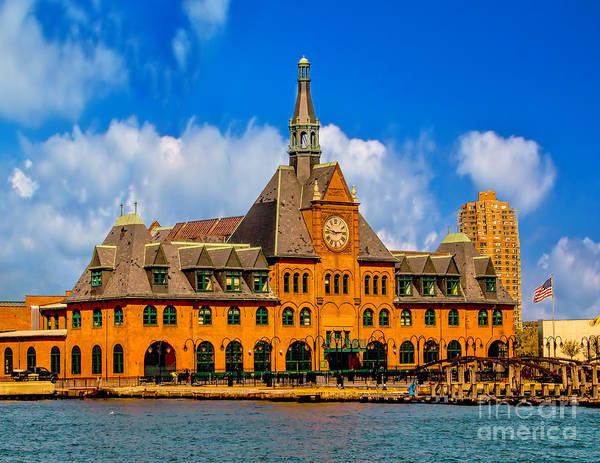 Photograph - Central Railroad Of New Jersey Terminal by Nick Zelinsky