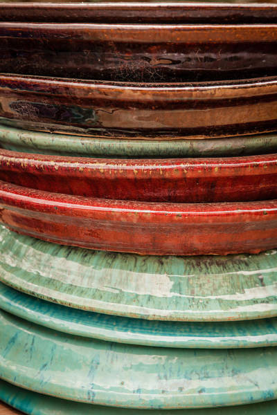Photograph - Ceramic Lines by Melinda Ledsome