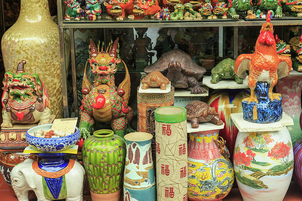Ceramics Wall Art - Photograph - Ceramics At Storefront Near Nanfeng by Stuart Westmorland