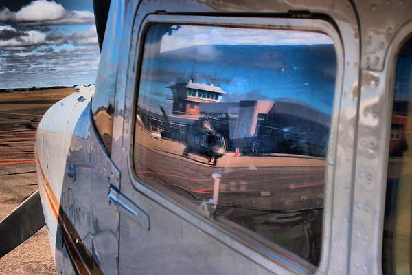Kimberley Airport Photograph - Cessna Reflections  by Paul Job