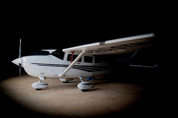 Kimberley Airport Photograph - Cessna Waiting by Paul Job