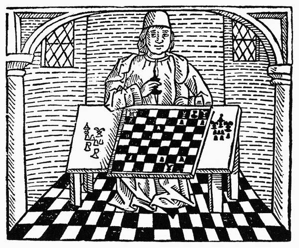 Painting - Cessolis Chess, C1483 by Granger