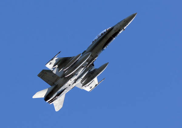Fighter Jets Photograph - Cf-18 Hornet by Cale Best