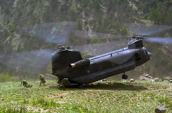 Photograph - Ch-47 Chinook Helicopter  by Doc Braham