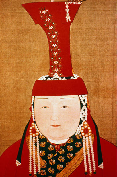 Crown Imperial Painting - Chabi (1227-1281) by Granger
