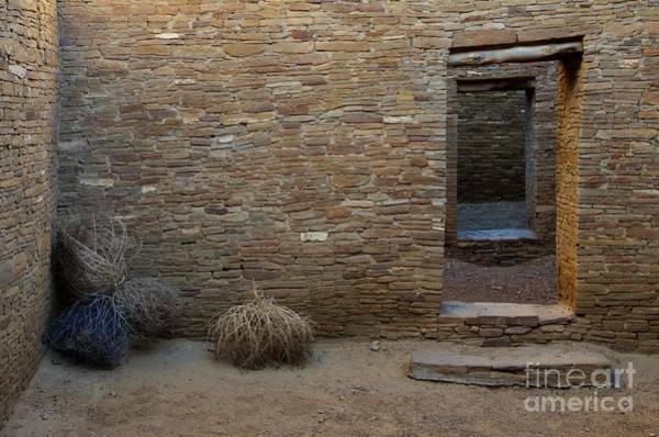 Chaco Canyon Wall Art - Photograph - Chaco Canyon Doorways by Bob Christopher
