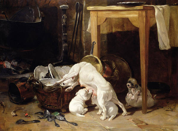 Dirty Painting - Chacun Pour Soi, 1864 by Philippe Rousseau