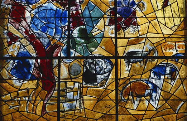 Wall Art - Photograph - Chagall Window, Israel by Lionello Fabbri