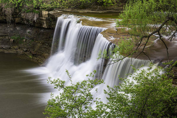 Photograph - Chagrin Falls by Dale Kincaid