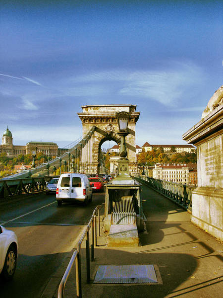 Chain Bridge-1 Art Print by Janos Kovac