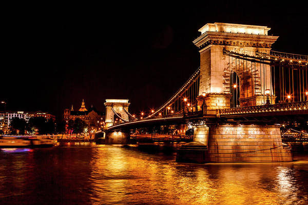 Chain Bridge Photograph - Chain Bridge, St by William Perry