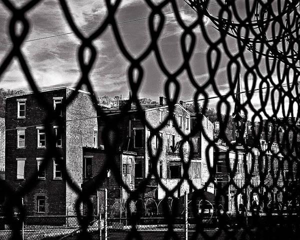 Otr Wall Art - Photograph - Chain Link by Michael Schwartzberg