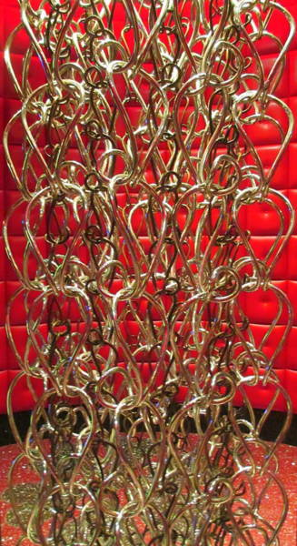 Chain Link Photograph - Chain Of Fools by Randall Weidner