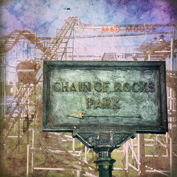 Photograph - Chain Of Rocks Park  by Robert FERD Frank