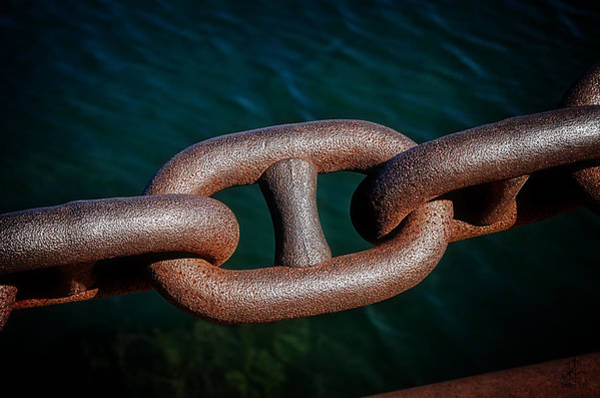 Photograph - Chained by Pennie McCracken