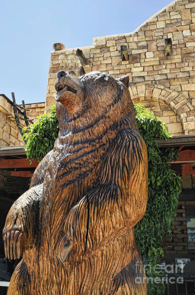 Photograph - Chainsaw Bear by Brenda Kean