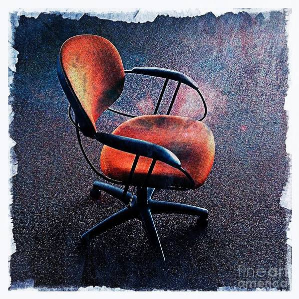 Wall Art - Photograph - Chair 3 by Perry Webster