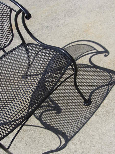 Photograph - Chair And Shadow 4 by Anita Burgermeister