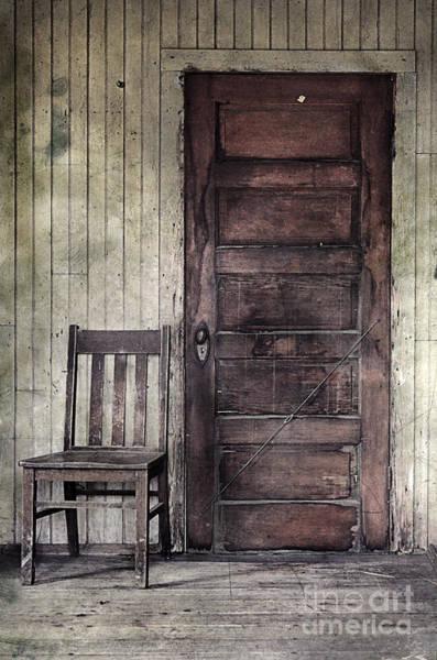 Wall Art - Photograph - Chair By A Door by Jill Battaglia