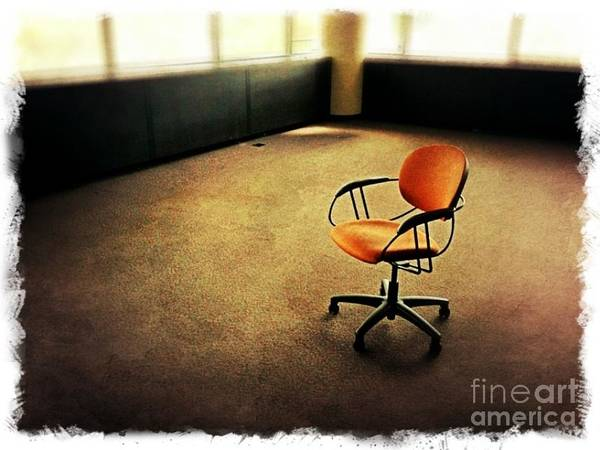 Wall Art - Photograph - Chair by Perry Webster