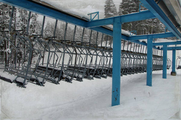 Photograph - Chairlifts by Marilyn Wilson