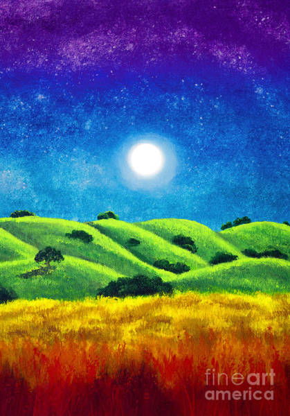 Wall Art - Painting - Chakra Landscape by Laura Iverson