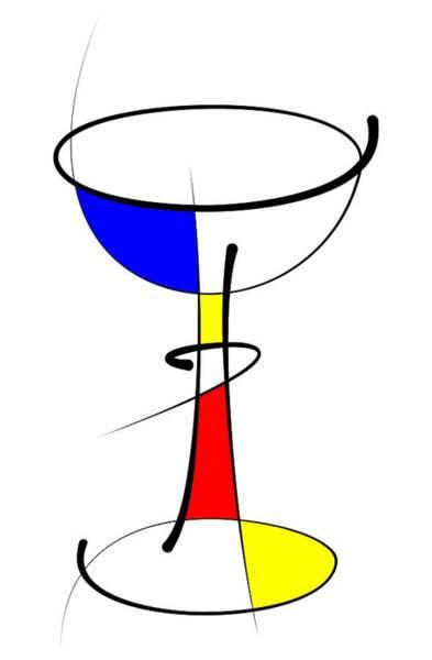 Digital Art - Chalice by Pal Szeplaky
