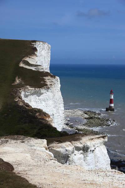 Photograph - Chalk  Headlands Near Beachy Head Esat Sussex by James Brunker