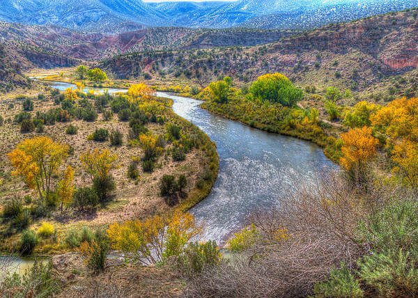 Chama Photograph - Chama River Overlook by Alan Toepfer