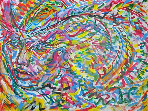 Ranchera Wall Art - Painting - Chamaco 3 by Jimmy Longoria
