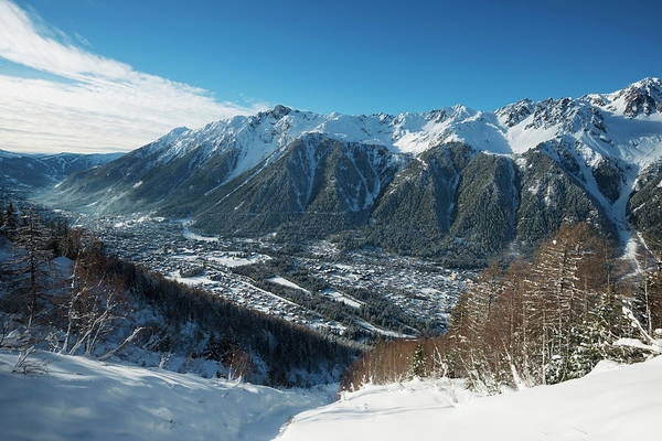Chamonix Wall Art - Photograph - Chamonix, Haute-savoie, French Alps by Christian Kober / Robertharding