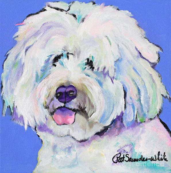 Painting - Champ by Pat Saunders-White