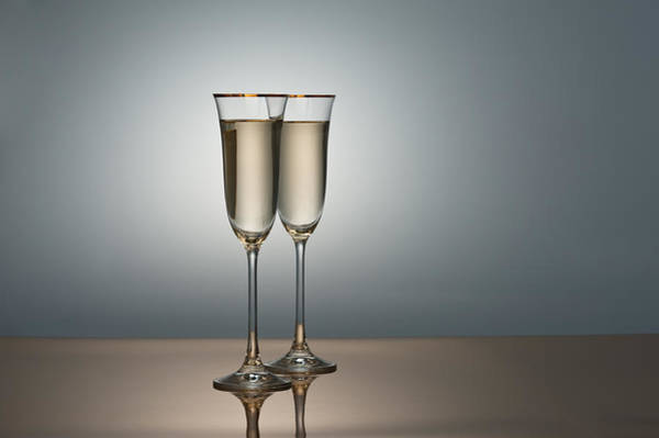 Photograph - Champagne Glasses by U Schade