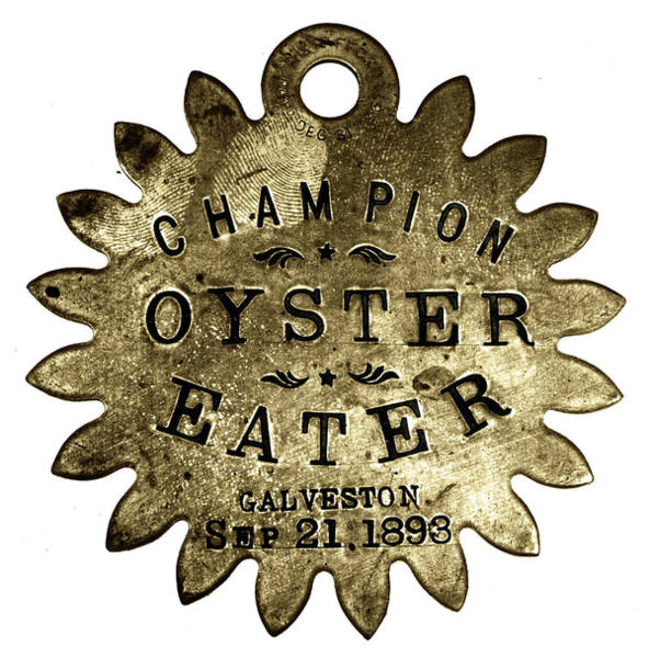 Painting - Champion Oyster Eater by Granger