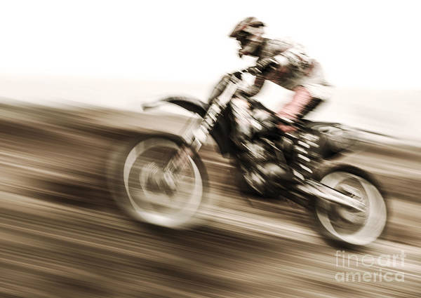 Dirtbike Photograph - Championship Of Motocross by Anna Om