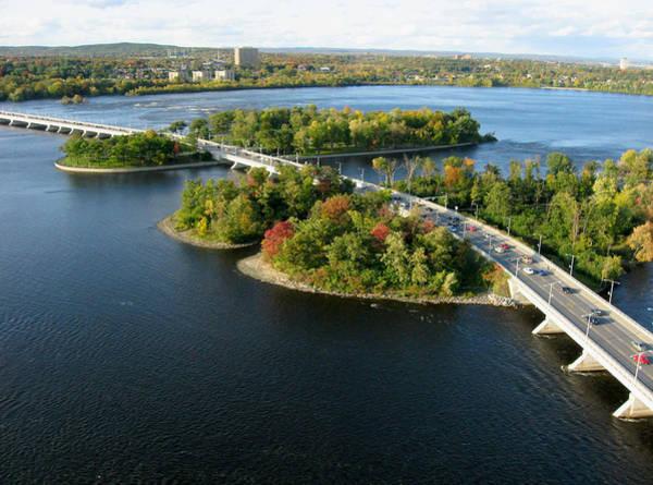 Photograph - Champlain Bridge by Rob Huntley