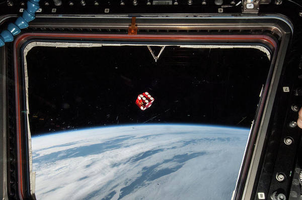 International Space Station Photograph - Chance In Space by Nasa
