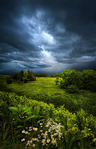 Summer Storm Photograph - Chance Of Rain by Phil Koch