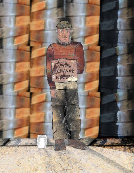 Mlk Digital Art - Change Needed by JG Whitney
