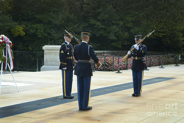 Photograph - Changing Of The Guard by Paul W Faust -  Impressions of Light