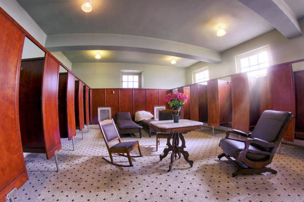 Photograph - Changing Room At The Fordyce Bathhouse - Hot Springs - Arkansas by Jason Politte