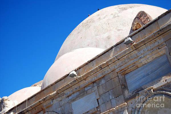 Taverna Photograph - Chania Mosque 05 by Antony McAulay
