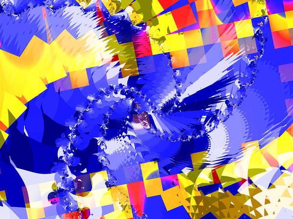 Wall Art - Digital Art - Chaos by David Ridley