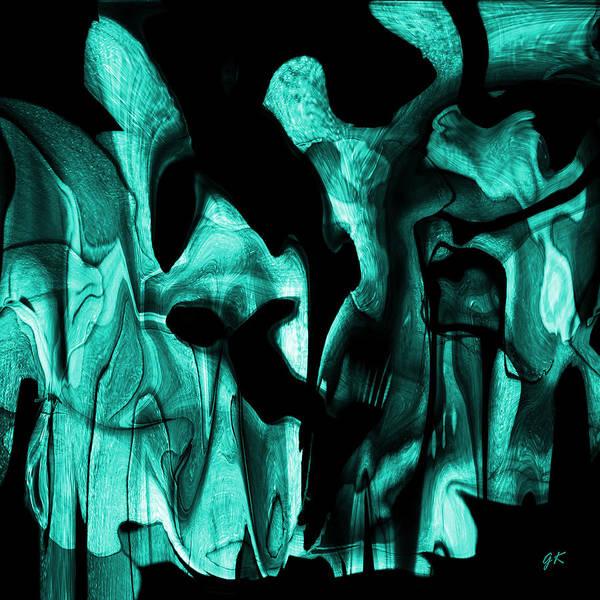 Digital Art - Chaos by Gerlinde Keating - Galleria GK Keating Associates Inc