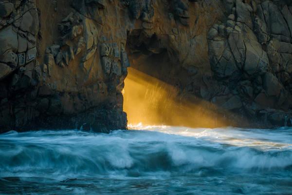Wall Art - Photograph - Chaos - Pfeiffer Beach by George Buxbaum