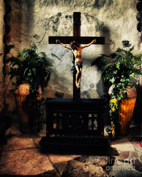 Photograph - Chapel At The Mission Concepcion by Gerlinde Keating - Galleria GK Keating Associates Inc
