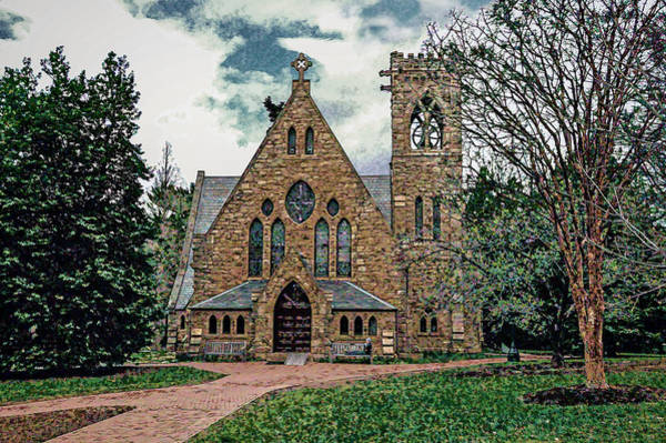 Photograph - Chapel At University Of Virginia by Jerry Gammon